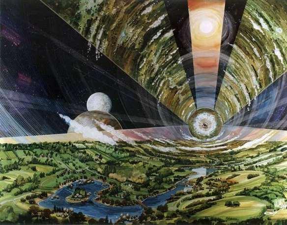 Colonias espaciales cilíndricas