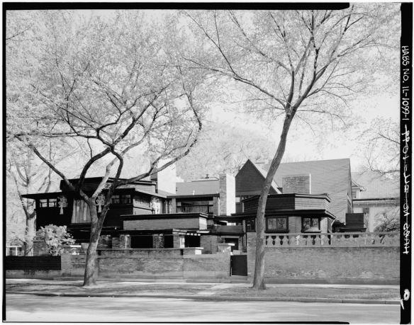 Casa y estudio de Frank Lloyd Wright