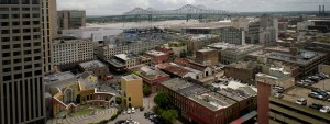 The view from our New Orleans law firm office