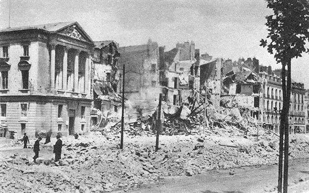 Le Katorza sous les bombes