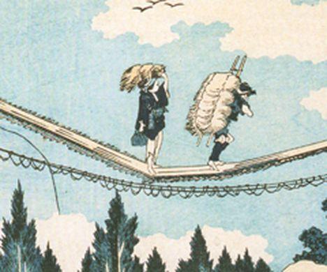 illustration furoshiki