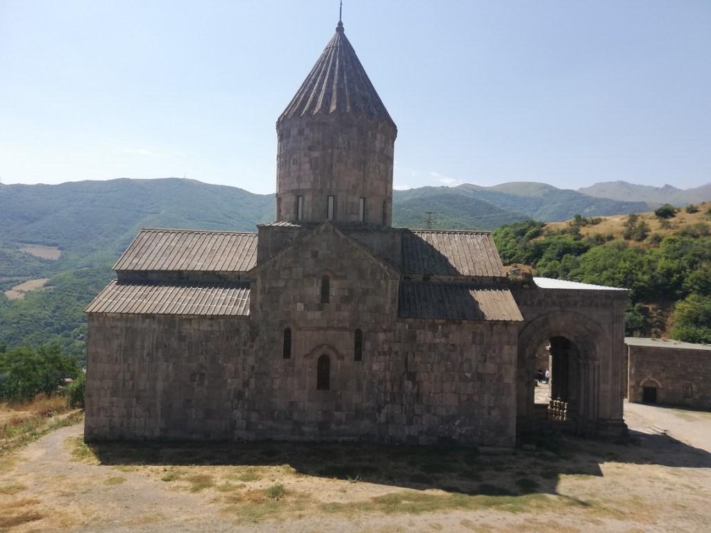 En route pour le monastère de Tatev