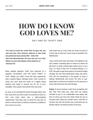 Download Our Free eBook! – L'amour In Christ