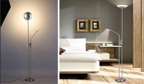 Lámpara de pie LED Finether