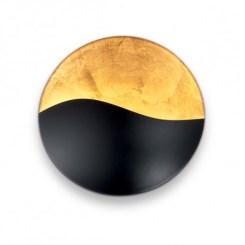 aplique color negro y oro