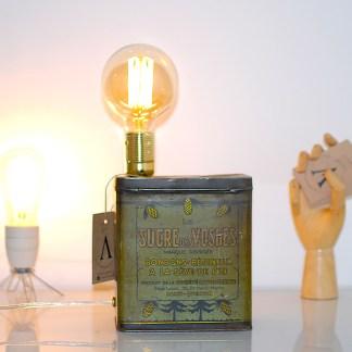 Lampe LAMPDA Boite Sucre des Vosges