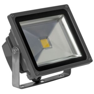 Led bouwlamp 30 watt warm-wit