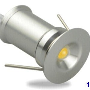Ledika LED Inbouwspot Set micro 6st 1W warm wit niet dimbaar