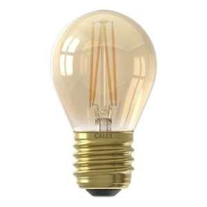 Calex LED kogellamp 240V 3,5W E27 - goud - Leen Bakker