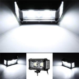 LED Single Driezijdige verlichting 6 Inch 6500-7000k Ip68 9-32V Wit Licht Off-road ATV Werk Koplampen