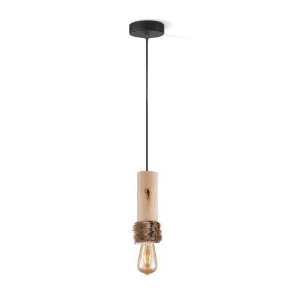Light depot - hanglamp Furdy large - hout - Outlet