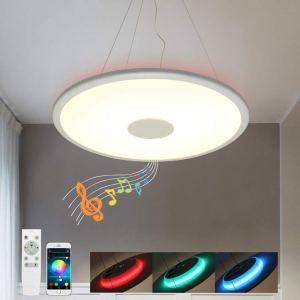 Blutooth Musik LED Pendelleuchte Dimmbar