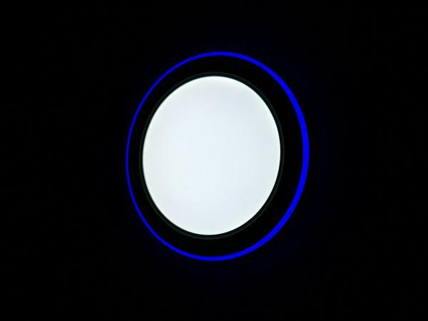 LED Panel blau Kaltweiß