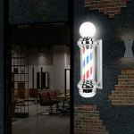 LED Friseur Lampe Barber Pole Barbierstab.