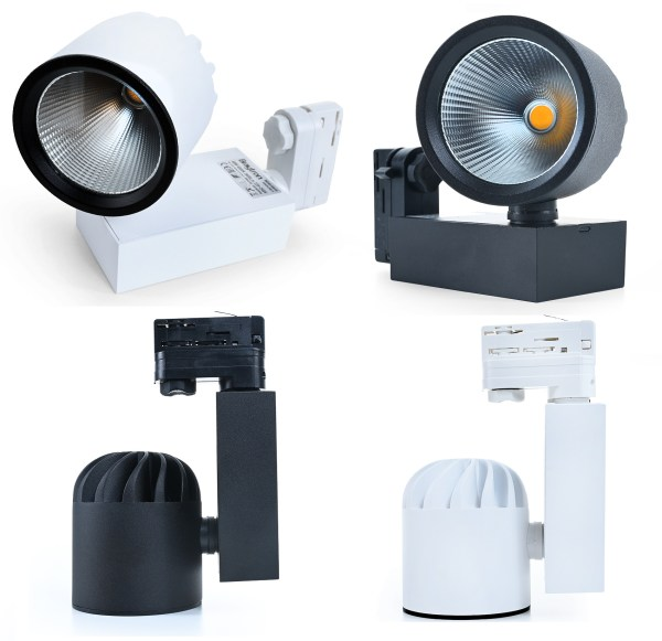 LED Stromschienenstrahler 40 Watt