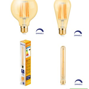 E27 LED Dimmbar Filament Leuchtmittel