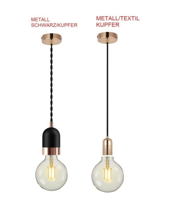 LED E27 Lampenfassung Hängelampe