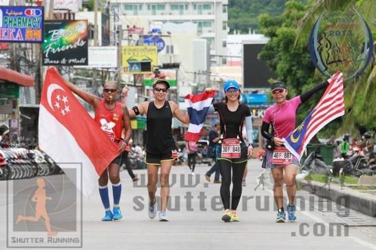 Pattaya Marathon 2013 United Colours of Asean