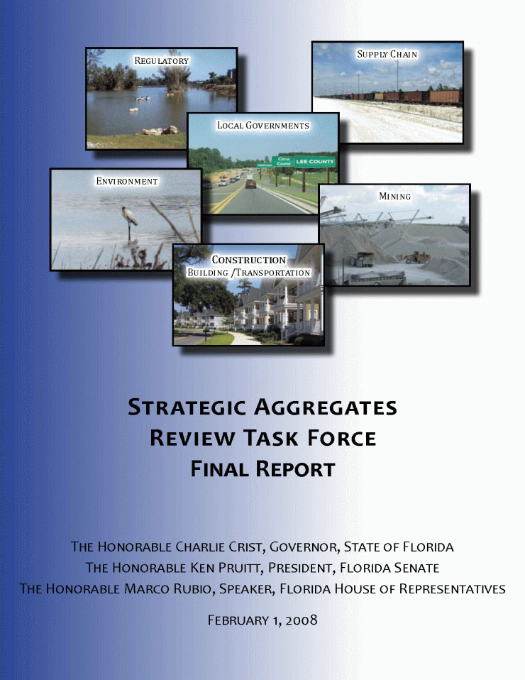 Stategic Aggregates Review Task Force Final Report