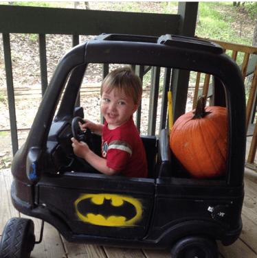 John and Batmobile 2014