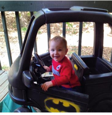 John and Batmobile 2013