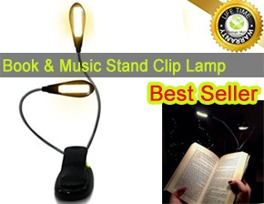clip on reading light for books reviews