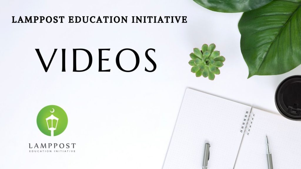 Lamppost Education Initiative Videos