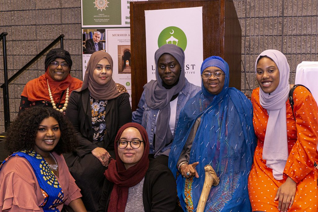 Sisters at the Black American Muslim Conference