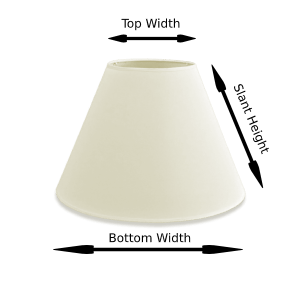 lamp shade sizing