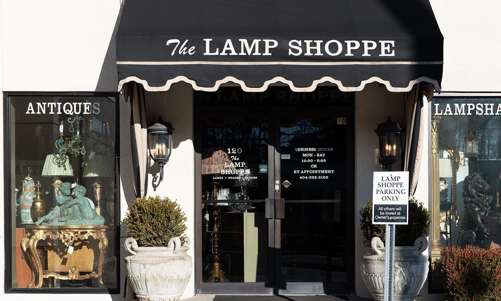 the lamp shoppe atlanta antiques
