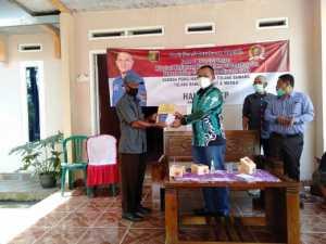 Sosper AKB di Dapil, Hanipal Ajak Masyarakat Patuhi Prokes