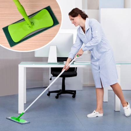 Cây lau đa năng - Lau sàn nhà, lau trần, lau kính,... siêu sạch