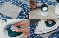 Cách làm sạch mặt bàn ủi hiệu quả.