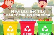 Phân loại rác thu gom Pin cũ giúp bảo vệ môi trường sống