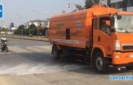 Dịch vụ quét rửa đường tại Hải Phòng