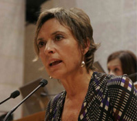 Nieves Ibeas Vuelta, Presidenta Nazional de CHA