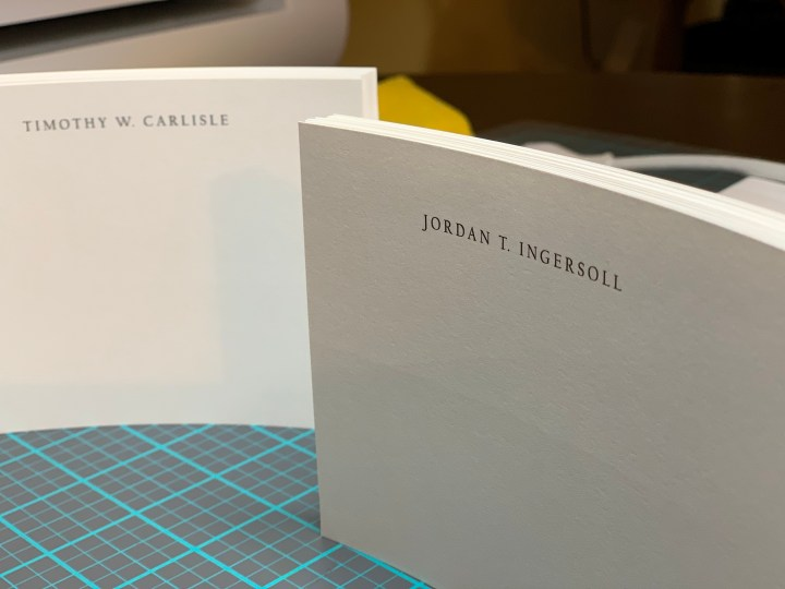 handcrafted high end personalized stationery and greeting cards