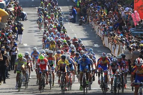 Foto/ Jorge Castellanos- La Vuelta al Táchira en Bicicleta definitivamente tienen autofinanciarse para no seguir dando tumbos en la parte económica.