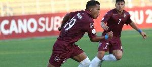 Lluvia de goles en el primer triunfo vinotinto en el Sudamericano sub-17