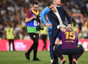 Barcelona cae en la Copa del Rey