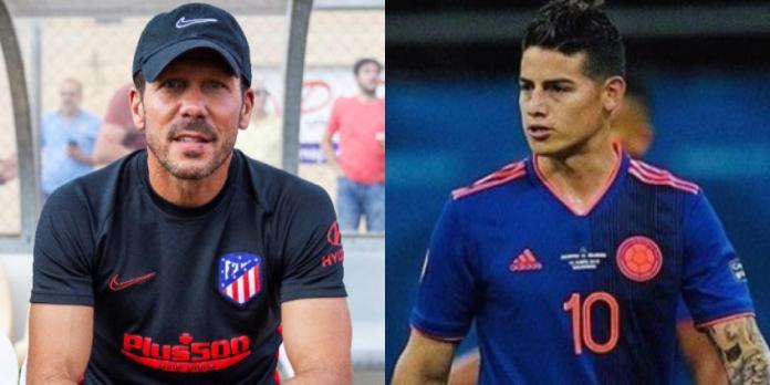 Sin lugar para James: la realidad del Atlético de Madrid de Simeone