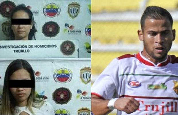 Dos adolescentes detenidas por homicidio del futbolista Gerardo Mendoza