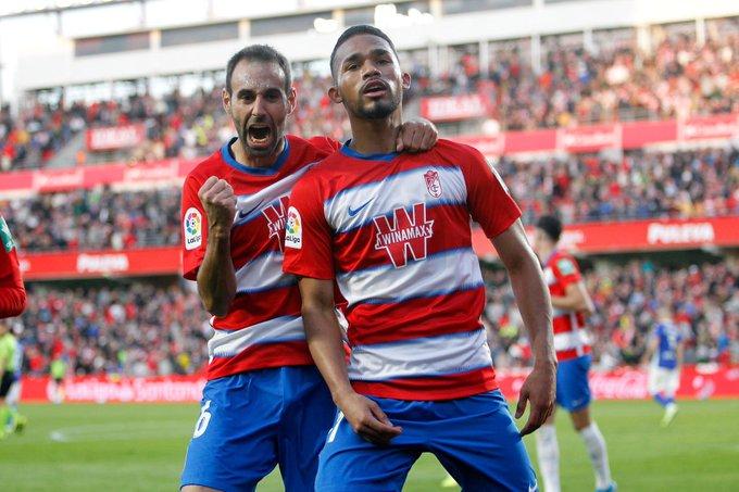 Yangel Herrera marcó un 'golazo' en triunfo del Granada