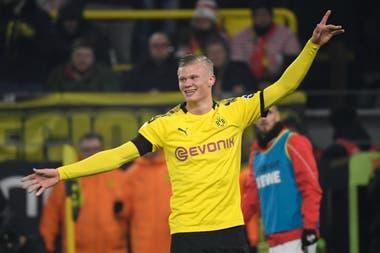 El demoledor lo hizo de nuevo: Haaland ya tiene 5 goles en 57 minutos en Borussia Dortmund
