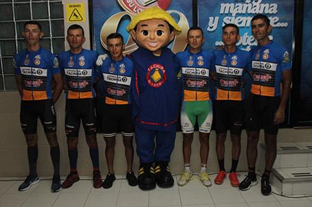 Jimmy Briceño encabeza el equipo Lotería del Táchira-Concafé, van en busca de la tercera corona. (Foto: Johnny Parra)