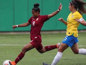 Vinotinto sub 19 femenina pierde la final con Brasil