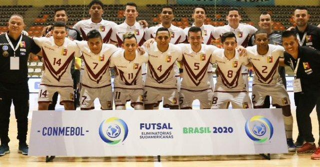 Venezuela se clasificó al Mundial de Fútsal Lituania 2020