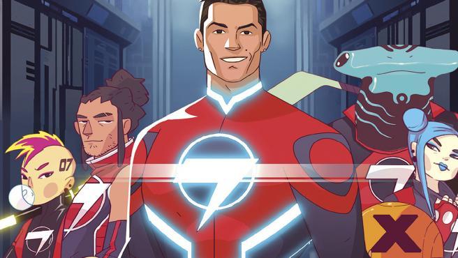 Cristiano Ronaldo se convierte en 'Striker Force 7', superhéroe en su propio cómic
