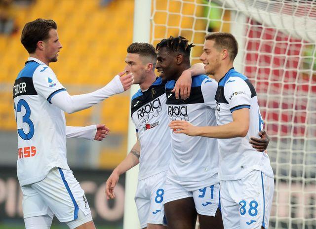 Con triplete de Duván Zapata, Atalanta venció 7-2 al Lecce