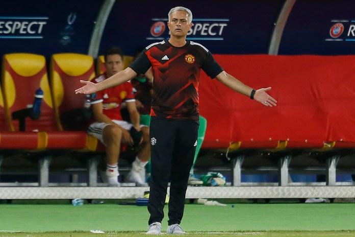 Mourinho y su mejor once que entrenó